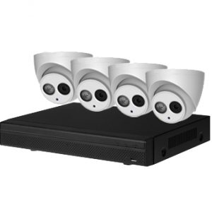 Dahua DIY CCTV Security Systems Package 4 x 4 Meg IP Cameras 16 Channel Recorder