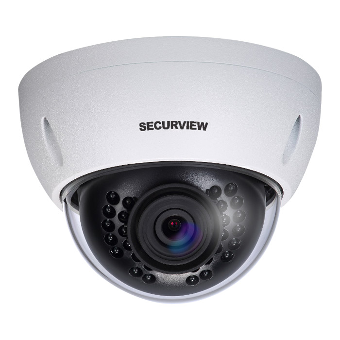 Securview VSCVI2MPVDIRV2 Professional Series 1080p WDR Fixed HDCVI Mini Dome Camera