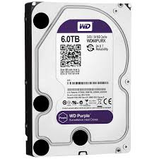 "WD Purple 6TB Surveillance 3.5"" IntelliPower"