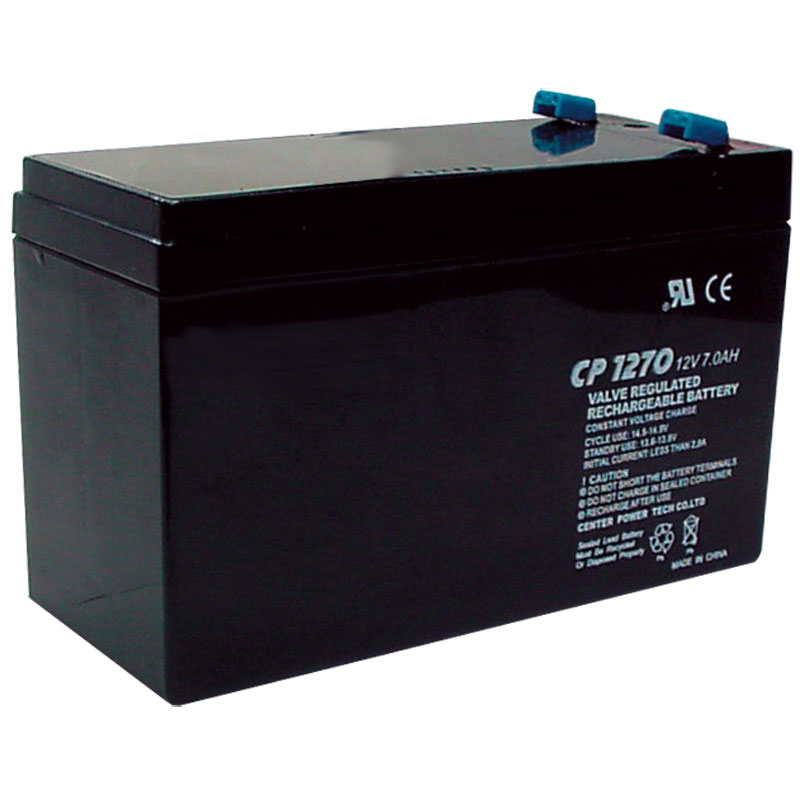 12V DC 7AH Sealed Lead Acid Alarm Battery