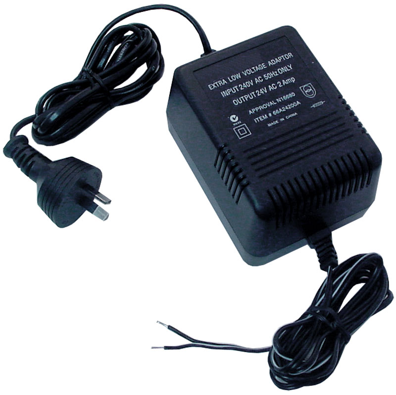 Rhino PS24VAC2AMP Low Voltage AC Adaptor