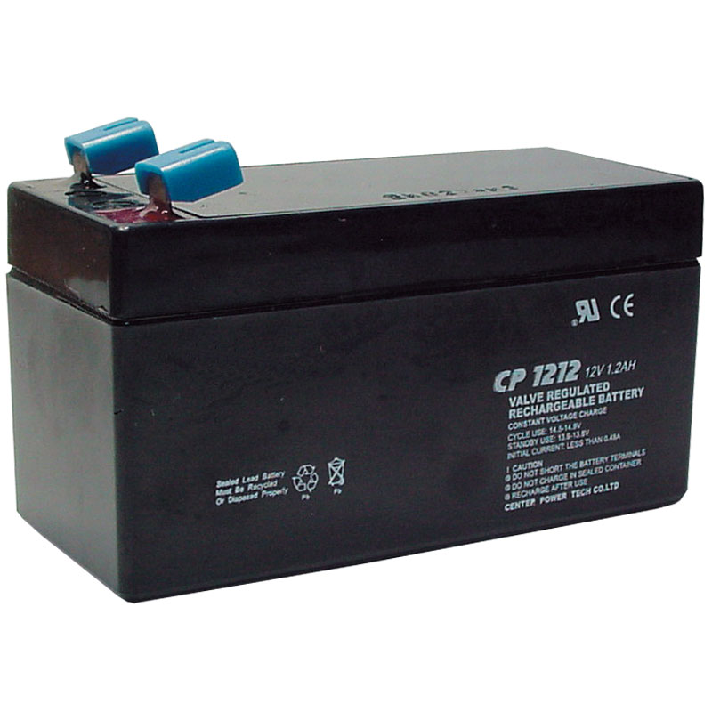 Rhino D12V12 12V DC 1.2AH Sealed Lead Acid Alarm Battery