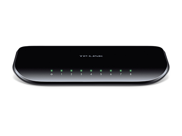TP-Link SG1008D 8-Port Gigabit Switch Desktop Plastic case