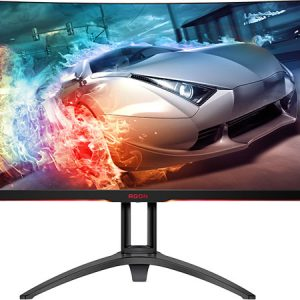 "AOC MNAO-AG322QC4 AGON 31.5"" VA IPS-Type 4ms 144Hz HDR400 Ultra-Thin FreeSync 2 Curv"