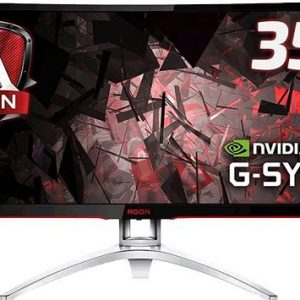 "AOC MNAO-AG352UCG6 AGON 35"" VA IPS-Type 4ms 120Hz G-Sync Curved Gaming Monitor"