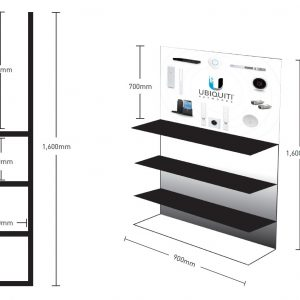 Ubiquiti NHU-DISPLAYSTAND Retail Display Stand