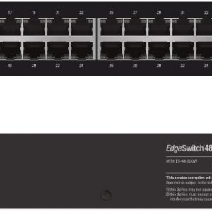 Ubiquiti NHU-ES-48-500W EdgeSwitch Managed PoE+ Gigabit Switch