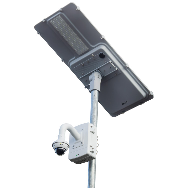 VIP SLR-A75-4G 75W Remote View Solar Surveillance System