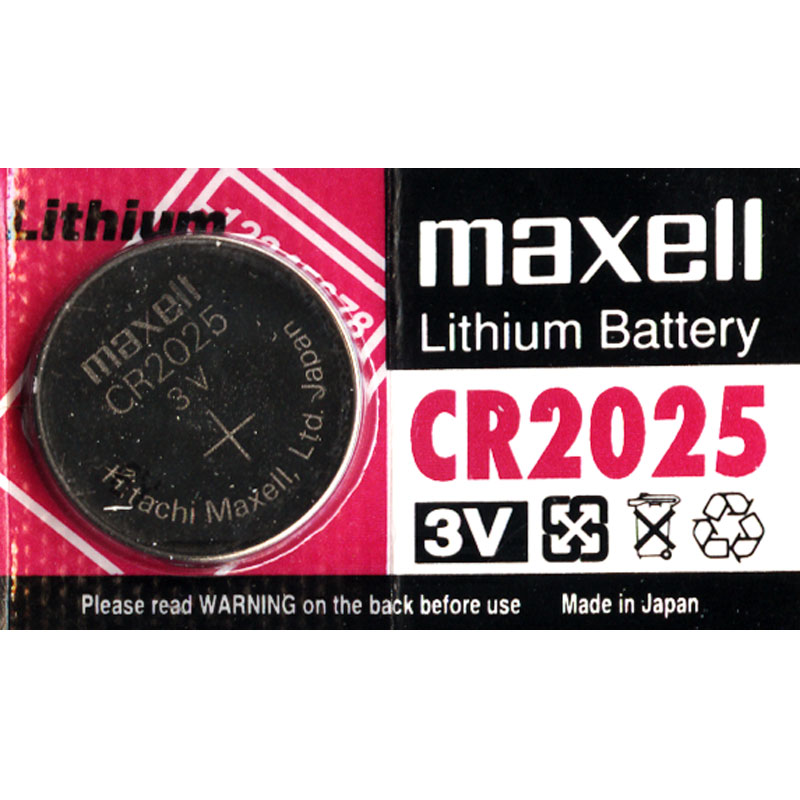 Rhino CR2025BP 3V Lithium Battery