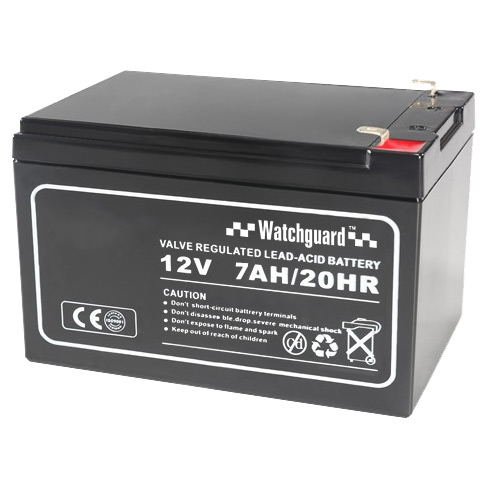 Watchguard D12V7A 12VDC 7Ah Sealed Lead Acid Battery