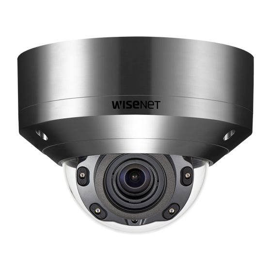 Wisenet XNV-8080RS X Series IR Dome Camera