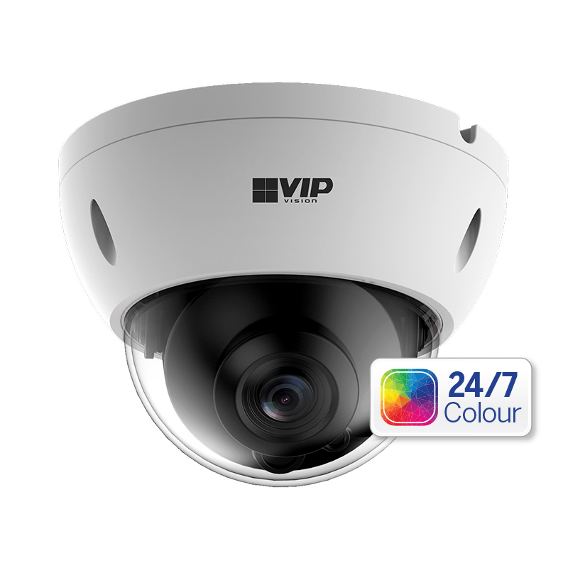 VIP VSIP2MPVDFC Professional Series Colour Fixed Dome Camera