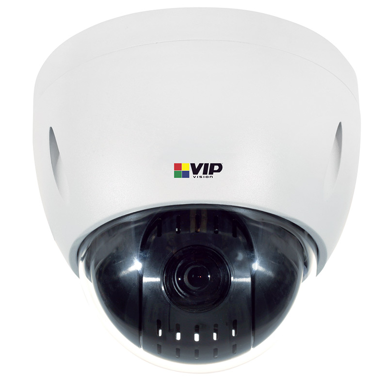VIP VSIP2MPPTZV3 Professional Series Zoom PTZ Dome Camera