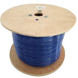 8Ware CB8W-CAT6A-EXT350BLU Cat6A Underground External Cable Roll 350m Blue