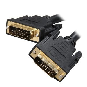 8Ware CB8W-DVI-DD2 DVI-D Dual-Link Cable 2m - 28 AWG Dual-link DVI-D Male 25-pin