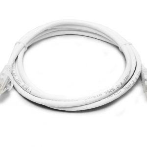 8Ware CB8W-PL6A-0.5WH Cat6a UTP Ethernet Cable 0.5m (50cm) Snagless White