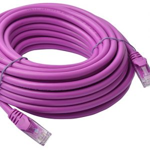 8Ware CB8W-PL6A-10PUR Cat6a UTP Ethernet Cable 10m Snagless Purple