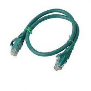 8Ware CB8W-PL6A-15GRN Cat6a UTP Ethernet Cable 15m Snagless Green