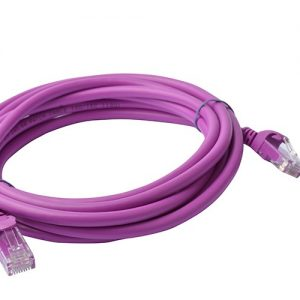 8Ware CB8W-PL6A-3PUR Cat6a UTP Ethernet Cable 3m Snagless Purple