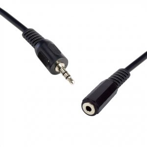 8Ware CB8W-QK-8054 3.5 Streo Male to Female 5m Speaker/Microphone Extension Cable