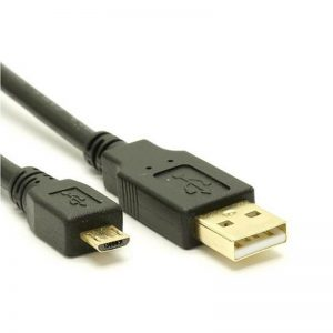 8Ware CB8W-UC-2002AUB USB 2.0 Cable 2m A to Micro-USB B Male to Male Black