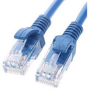 Astrotek CBA-NC5BL-1M CAT5e Cable 1m - Blue Color Premium RJ45 Ethernet Network LAN UTP Patch Cord 26AWG
