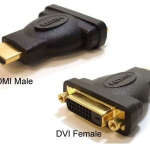 Astrotek CBAT-HDMIDVID-MF HDMI to DVI-D Adapter Converter Male to Female