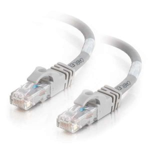Astrotek CBAT-RJ45GR6-1M CAT6 Cable 1m - Grey White Color Premium RJ45 Ethernet Network LAN UTP Patch Cord 26AWG-CCA PVC Jacket