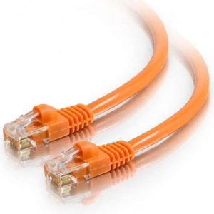 Astrotek CBAT-RJ45OR6-1M CAT6 Cable 1m - Orange Color Premium RJ45 Ethernet Network LAN UTP Patch Cord 26AWG-CCA PVC Jacket