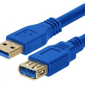 Astrotek CBAT-USB3-AA-2M USB 3.0 Extension Cable 2m - Type A Male to Type A Female Blue Colour