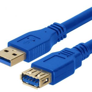 Astrotek CBAT-USB3-AA-3M USB 3.0 Extension Cable 3m - Type A Male to Type A Female Blue Colour