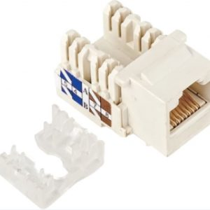 Astrotek CBATP-KJ-5E CAT5e UTP Network Keystone Jack for Socket kit 10ps per pack Poly Bag White LS
