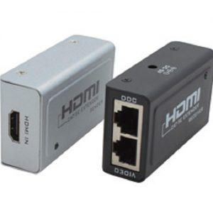 Cabac CB-HDMIEXTENDER HDMI Extender Via RJ45, HDCP, Up to 1080p, LS