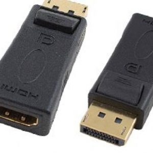 Cabac CBADDPMHDMIF Display Port Male to HDMI Female Adaptor LS