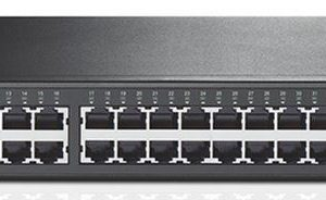 TP-Link NWTL-SG1048 48-Port Gigabit Rackmount Switch 19-inch rack-mountable steel case 96Gbps Switching Capacity IEEE 802.3x flow control Auto