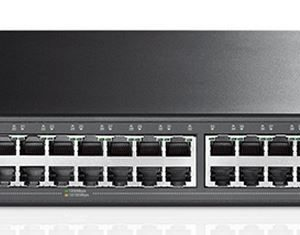 TP-Link NWTL-SG2452 (TL-SG2452) JetStream 48-Port Gigabit Smart Switch with 4 SFP Slots 104Gbps L2+ Feature