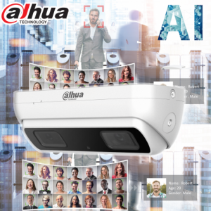 Dahua 3MP AI Starlight 3D Dual Lens People Counting IP Network Fixed 2.8mm,WDR,IR 10m, Micro SD,IP67,POE