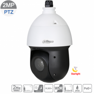 Dahua DH-SD49225T-HN-S2 2MP Starlight IP PTZ 25X 4.8mm~120mm lens,ICR,WDR,IR 100m,IP66,POE+