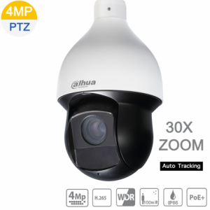 Dahua DH-SD59430U-HNI 4MP IP PTZ 30X 4.5mm~135mm lens, ICR, WDR,IR 100m, Auto Tracking, IP66, AC24V/3A, POE+