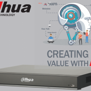 Dahua DHI-NVR5216-8P-I-6TB 16ch AI NVR 16MP recording,8xPOE,1x HDMI(4K)/VGA, Face Capture, Face Recognition, People Counting, ANPR, POS, P2P,6TB installed