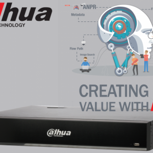 Dahua DHI-NVR5432-16P-I-4TB 32ch AI NVR 16MP recording,16xPOE, 2x HDMI(4K)/VGA, Face Capture, Face Recognition, People Counting, ANPR, POS, P2P, 4TB installed