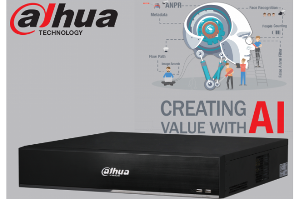 Dahua DHI-NVR5864-I 64ch AI NVR Record Up to 16MP,2x HDMI(4K)/VGA, Face Capture, Face Recognition, People Counting, ANPR, POS, P2P