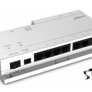Dahua DHI-VTNS1060A-A POE switch for IP System with dahua network protocol, connect up to 6 indoor monitor