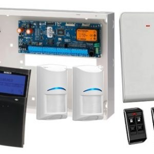 Bosch SAK6SPWTB 6K Panel + 1 x SCP732 BLACK SMART PROX Graphic Keypad + 2 x RF Tri Tech 2 x RF Keyfob + RX