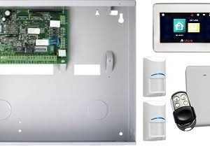 Bosch SAK8WTTM Ultima 880 ICP 488 + TOUCH SCREEN + 2 x RF Tri Tech + 2 x Metal RF Keyfob + RX