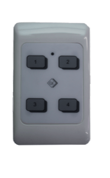 Bosch SWMTW4 4 Ch Wall Mount Remote Transmitter