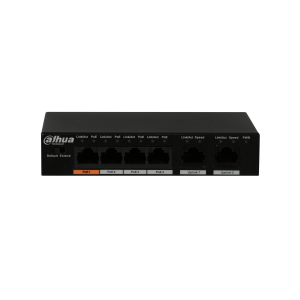 Dahua DH-PFS3006-4ET-60 4 Port POE Switch (unmanaged)