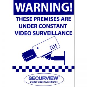 Securview VSA24A3 Securview CCTV Warning Sign A3 Size