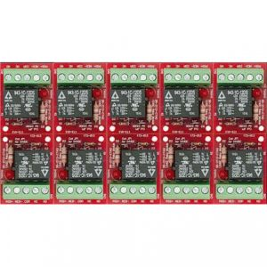 Watchguard RLM7A-SD-10 12/24VDC 10-Pack Relay Module (One 7A SPDT Relay)