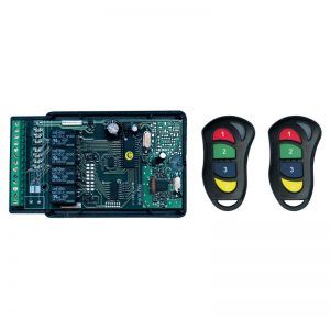 Watchguard RXPROR4 4 Channel Multi-Function Receiver / Transmitter Set - 433.92 MHz with Onboard Relays